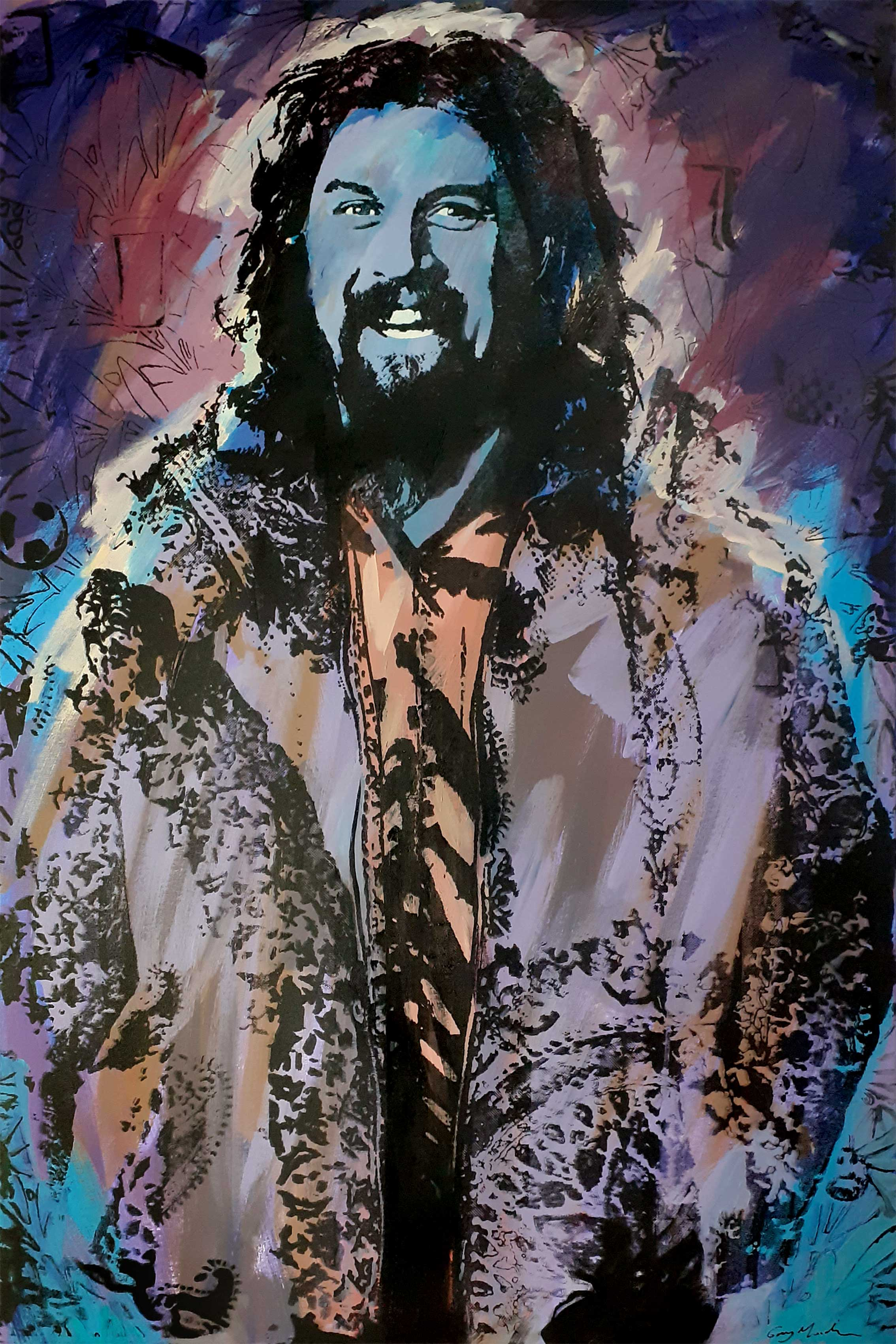 Portrait of Billy Connolly 6