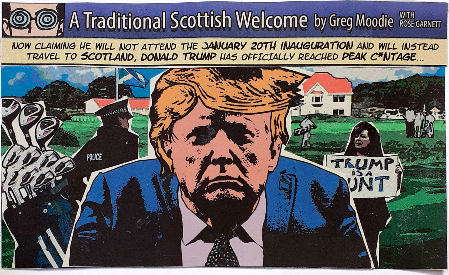 A Traditional Scottish Welcome