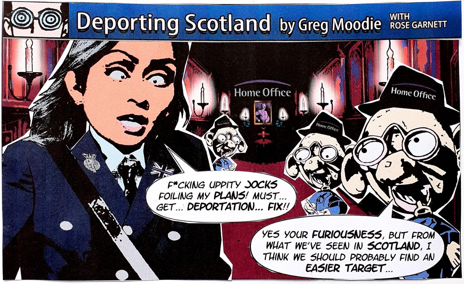 Deporting Scotland