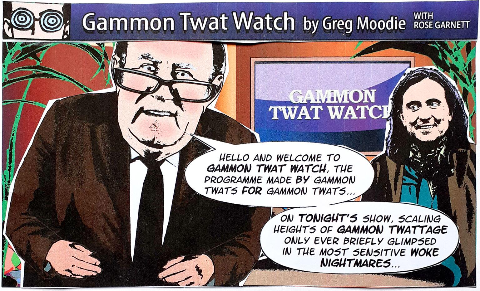 Gammon Twat Watch