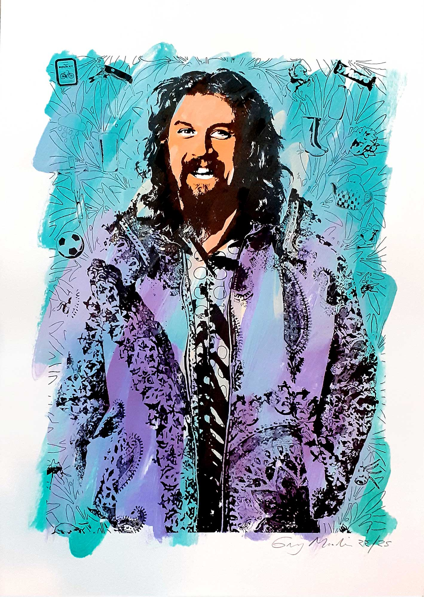 Portrait of Billy Connolly #22
