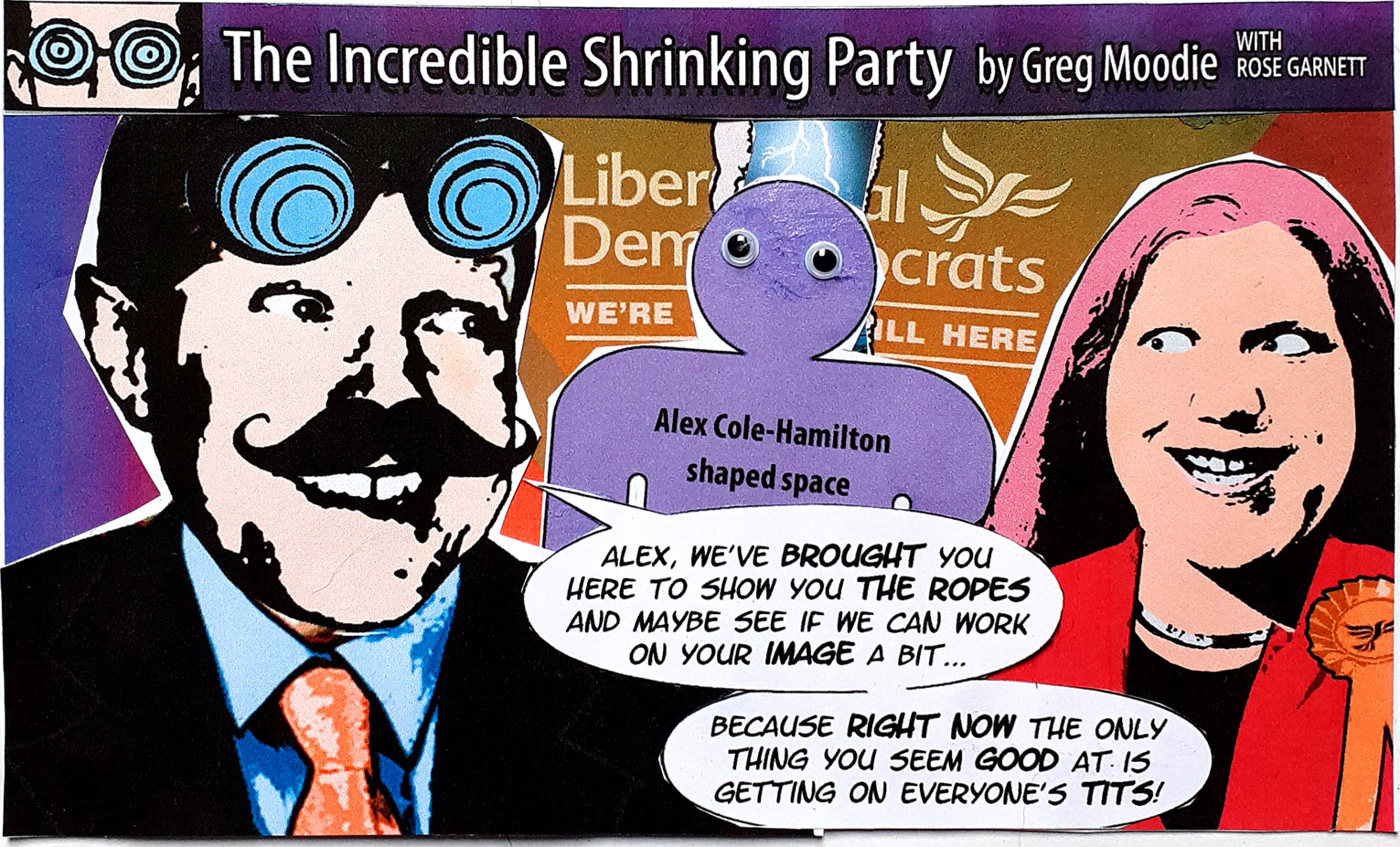 The Incredible Shrinking Party