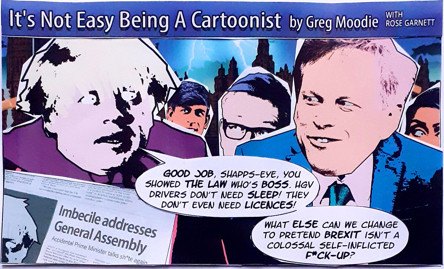 It's Not Easy Being A Cartoonist